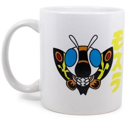 Surreal Entertainment Godzilla Chibi Mothra Ceramic Mug Exclusive | Holds 11 Ounces
