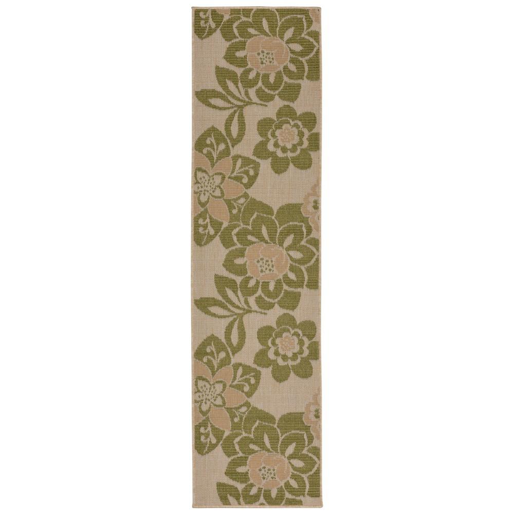 Best Price 2X8 Runner Floral Runner Green Liora Manne
