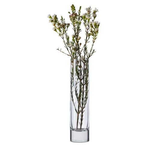 Glass Cylinder Bud Vase Clear 75 Libbey Target