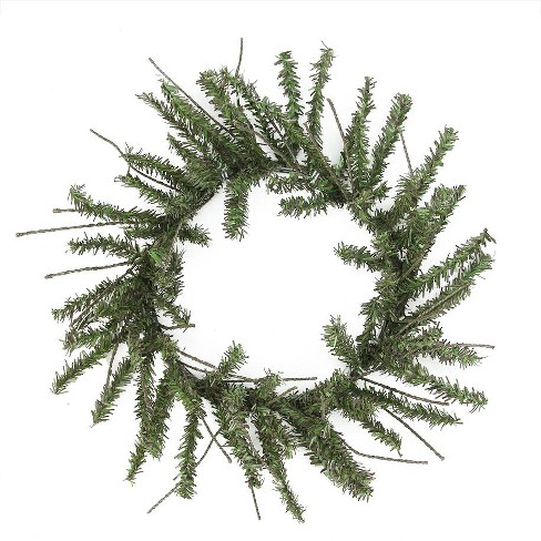 Vickerman 12 Unlit Mini Vienna Twig Artificial Christmas Wreath