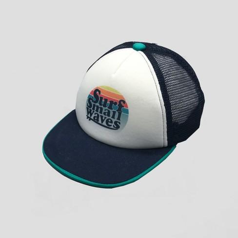 7c021eed6ad Baby Boys  Surf Flat Bill Cap - Cat   Jack™ White 12-24M   Target