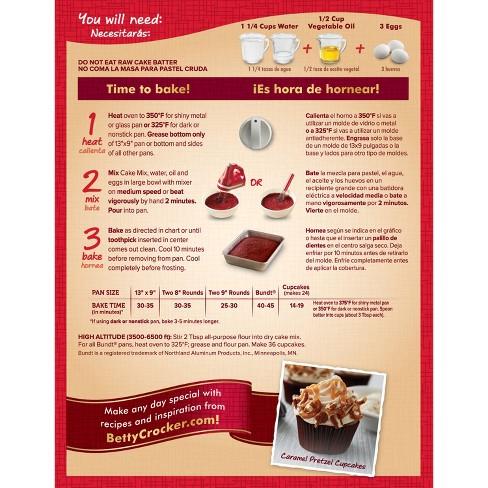 betty crocker super moist red velvet cake mix 15 25oz target