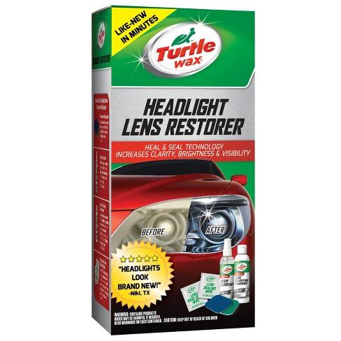 Turtle Wax Headlight Lens Restorer Kit Target