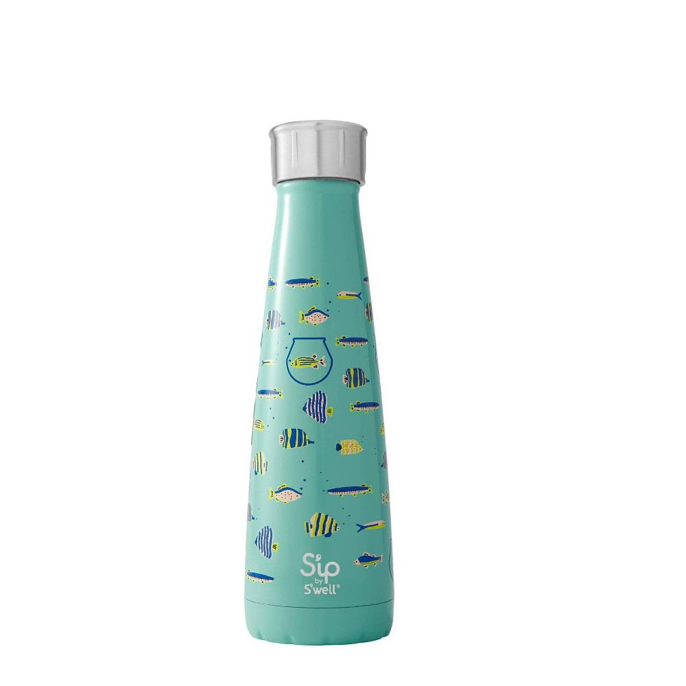 S'ip by S'well 15oz Water Bottle Blue Glass