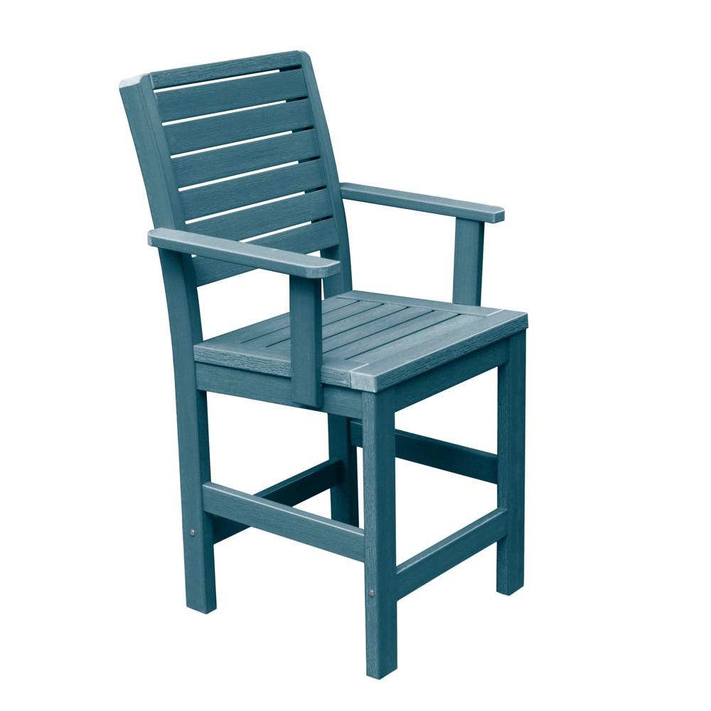 Weatherly Counter Armchair Nantucket Blue - Highwood