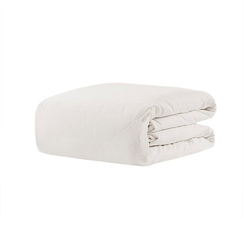 60 X70 12lb Deluxe Cotton Weighted Blanket White Beautyrest Target