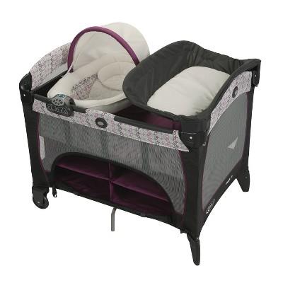 Graco Pack 'n Play Newborn Seat DLX Playard - Nyssa