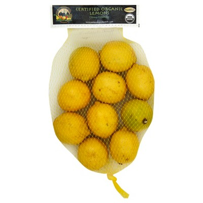 Organic Lemons - 2lb Bag
