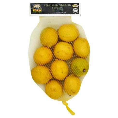 Organic Lemons - 2lb Bag - image 1 of 1