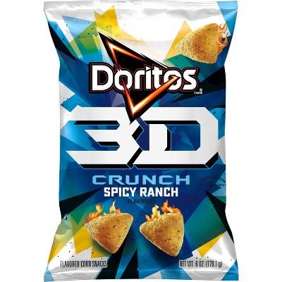 Doritos 3D Crunch Spicy Ranch - 6oz
