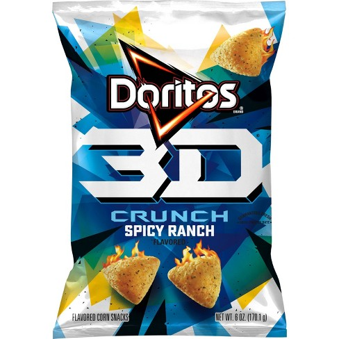 Doritos 3D Crunch Spicy Ranch - 6oz - image 1 of 3