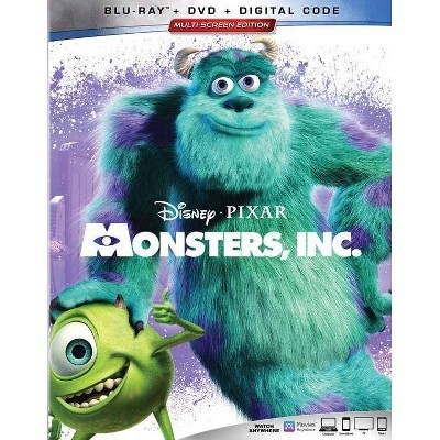 Monsters Inc (Blu-Ray + Digital)