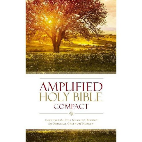Amplified Bible-Am-Compact - by  Zondervan (Hardcover) - image 1 of 1