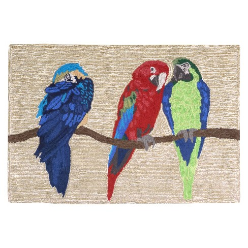 Frontporch Parrots Bright Rug - Liora Manne - image 1 of 1