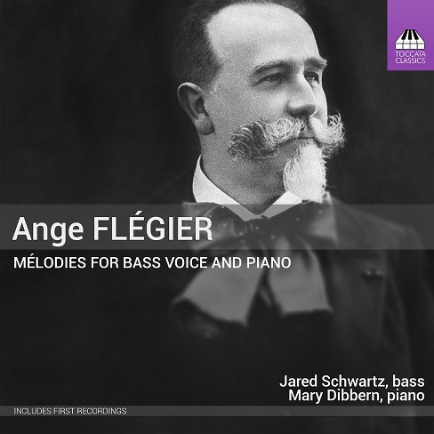 Jared schwartz - Flegier:Melodies for bass voice & pia (CD) - image 1 of 1