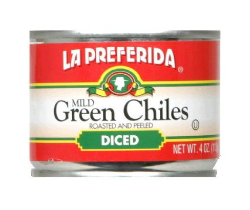 La Preferida Diced Roasted and Peeled Mild Green Chiles 4 oz - image 1 of 1