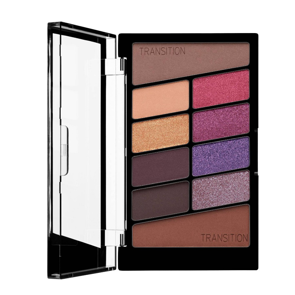 Image of Wet n Wild Color Icon 10-Pan Eyeshadow Palette - V.I.Purple - 1oz