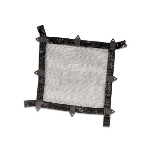 Swimline Deluxe Rectangular In-Ground Pool Closing Leaf Net Cover 12' x 20' - Black/White - image 1 of 1