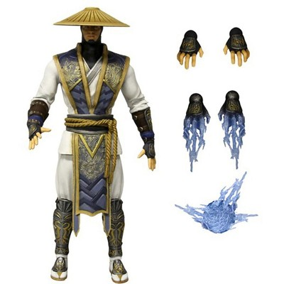 "Mezco Toyz Mortal Kombat 6"" Action Figure Raiden"