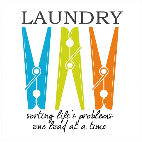 Laundry Sorting by Taylor Greene Unframed Wall Art Print - image 1 of 2