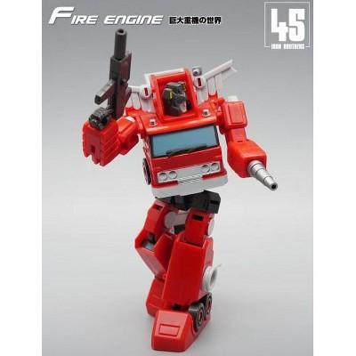 MF-45 Fire Engine | Mech Fans Toys Action figures
