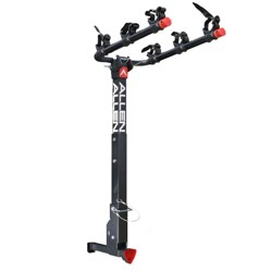 Allen Sports 1.25-2 Inch Receiver Lockable Hitch Deluxe 3 Bike Rack Car Carrier