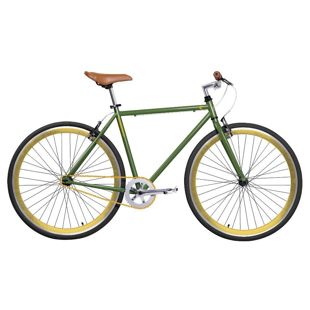 Gama Men's 28 Alley Cat Road Bike - Green