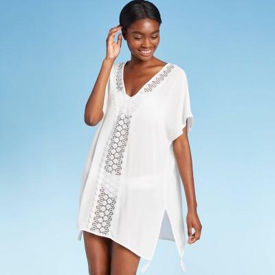 Women's Crochet Insert Cover Up Dress - Kona Sol™