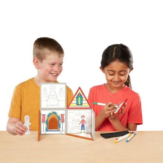 Melissa & Doug Magnetivity - Draw & Build House image number null