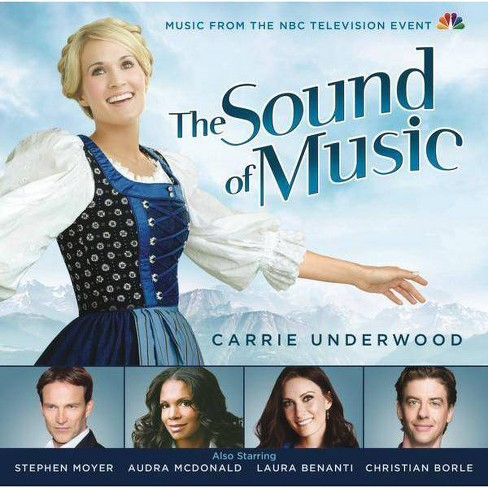 Carrie Underwood - The Sound of Music (2013 NBC Television Cast) (CD) - image 1 of 1