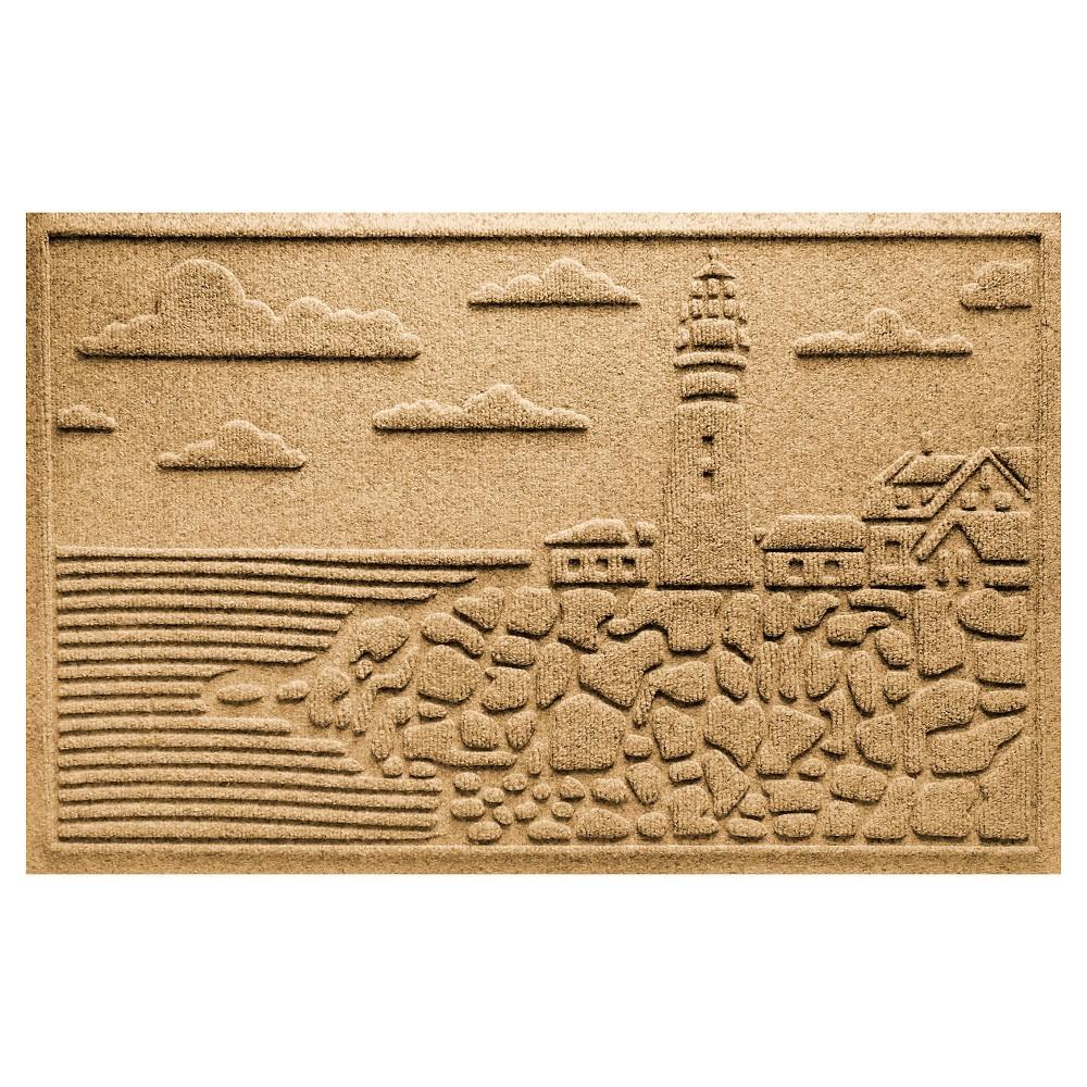 Gold Solid Pressed Doormat - (2'X3') - Bungalow Flooring