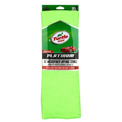 XL Platinum Microfiber Drying Towel Green - Turtle Wax