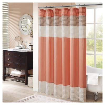 Shower Curtain - Coral