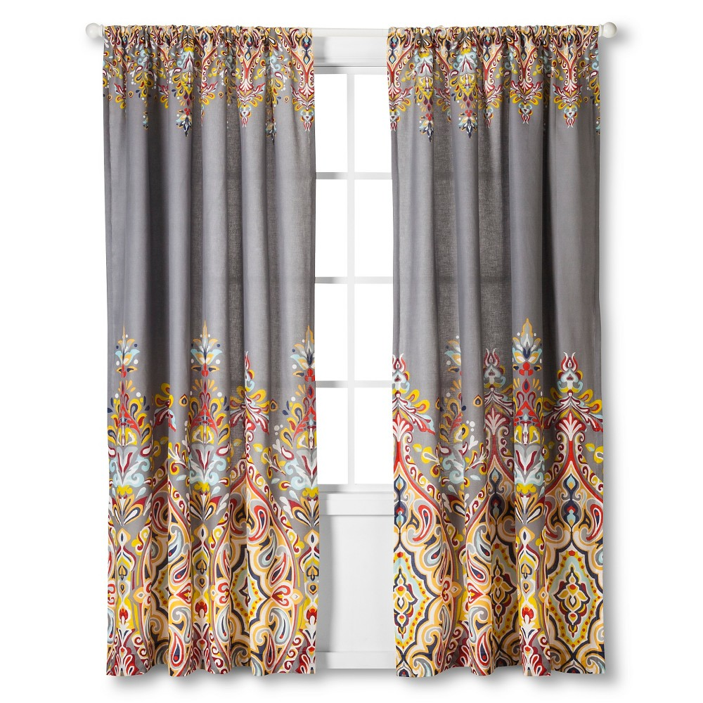 Imani Curtain Panel (84) - Mudhut, Multi-Colored