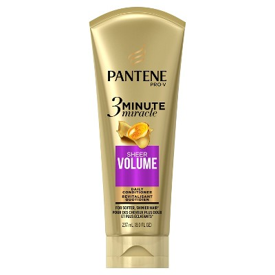 Shampoo & Conditioner: Pantene Pro-V 3 Minute Miracle Sheer Volume