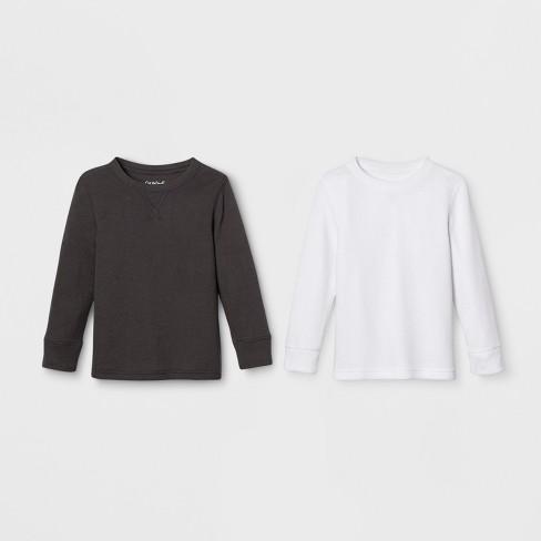 c6122f7525a0 Toddler Boys' Long Sleeve Thermal 2pk T-Shirt - Cat & Jack™ White ...