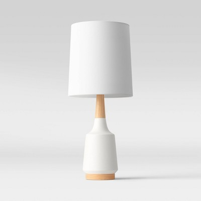 Large Ceramic Table Lamp (Includes LED Light Bulb)Cream - Project 62™