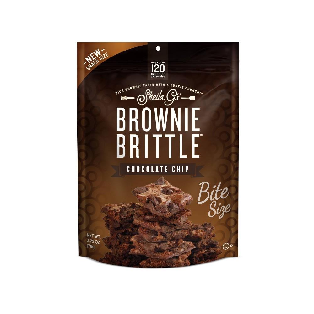 Sheila G S Chocolate Chip Brownie Brittle 2 75oz