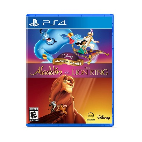 Disney Classic Games: Aladdin and The Lion King - PlayStation 4 - image 1 of 4