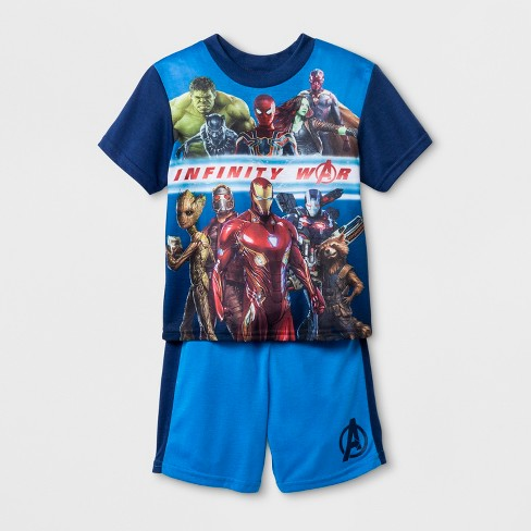 Boys' Avengers 2pc Pajama Set - image 1 of 1