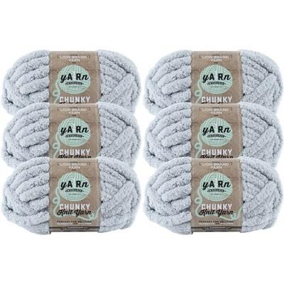 6pk AR Workshop Chunky Knit Yarn Willow - Lion Brand Yarn