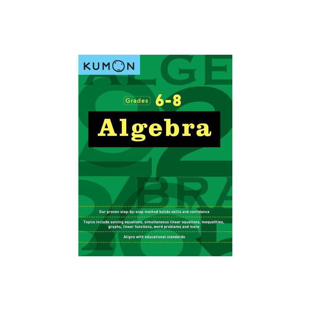 Algebra - by Kumon (Paperback)