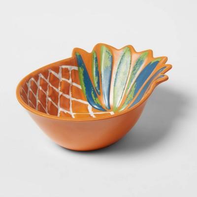 11oz Melamine and Bamboo Pineapple Snack Bowl - Opalhouse™