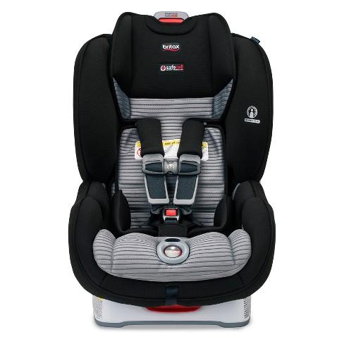 Britax Marathon Click Tight Dual Comfort Convertible Car Seat Black Gray Target