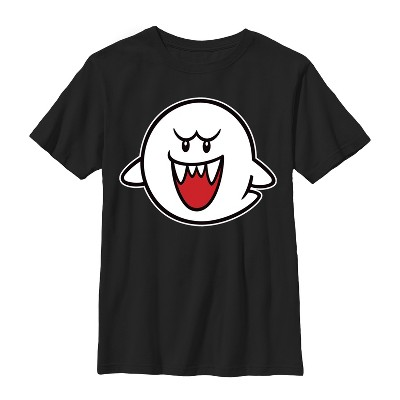 Boy's Nintendo Mario Boo Ghost T-Shirt