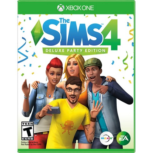 The Sims 4 Deluxe Party Edition - Xbox One - image 1 of 8