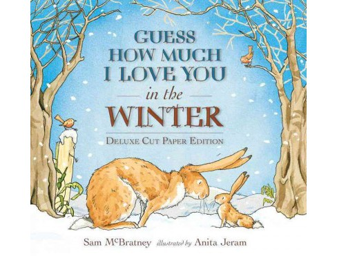 Guess How Much I Love You in the Winter : Cut Paper Edition (Deluxe) (School And Library) (Sam - image 1 of 1