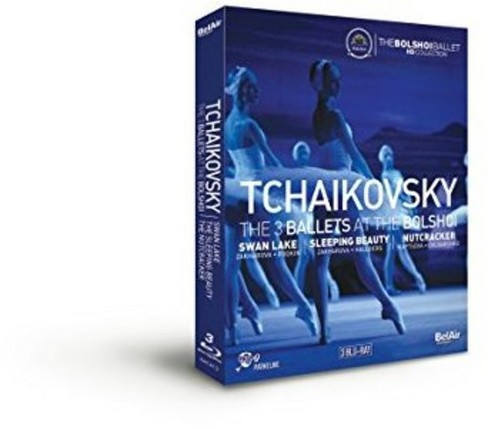 Tchaikovsky:3 Ballets At The Bolshoi (Blu-ray) - image 1 of 1