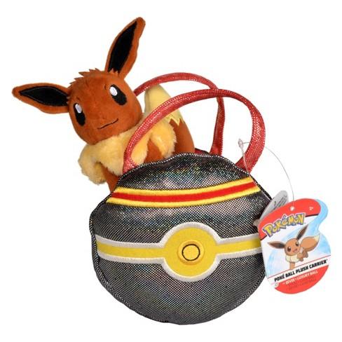 Pokemon Eevee Poke Ball Plush Carrier Target
