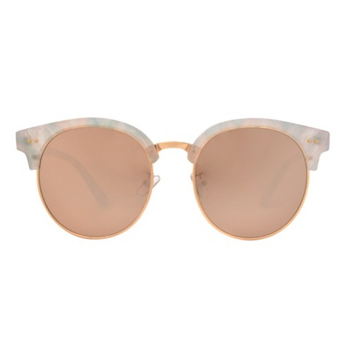09a32cf491 Women s Smoke Sunglasses - Wild Fable™ White   Target
